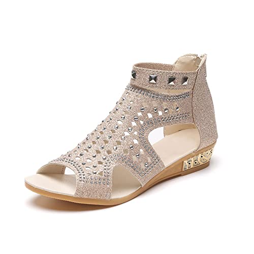 bad1860d103b Yamed Sandals Women Sandalia Feminina New Casual Rome Summer Shoes Fashion  Rivet Gladiator Sandals Women Sandalia