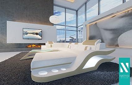 Nativo divano di design hermes xl con luci a led arredamento di