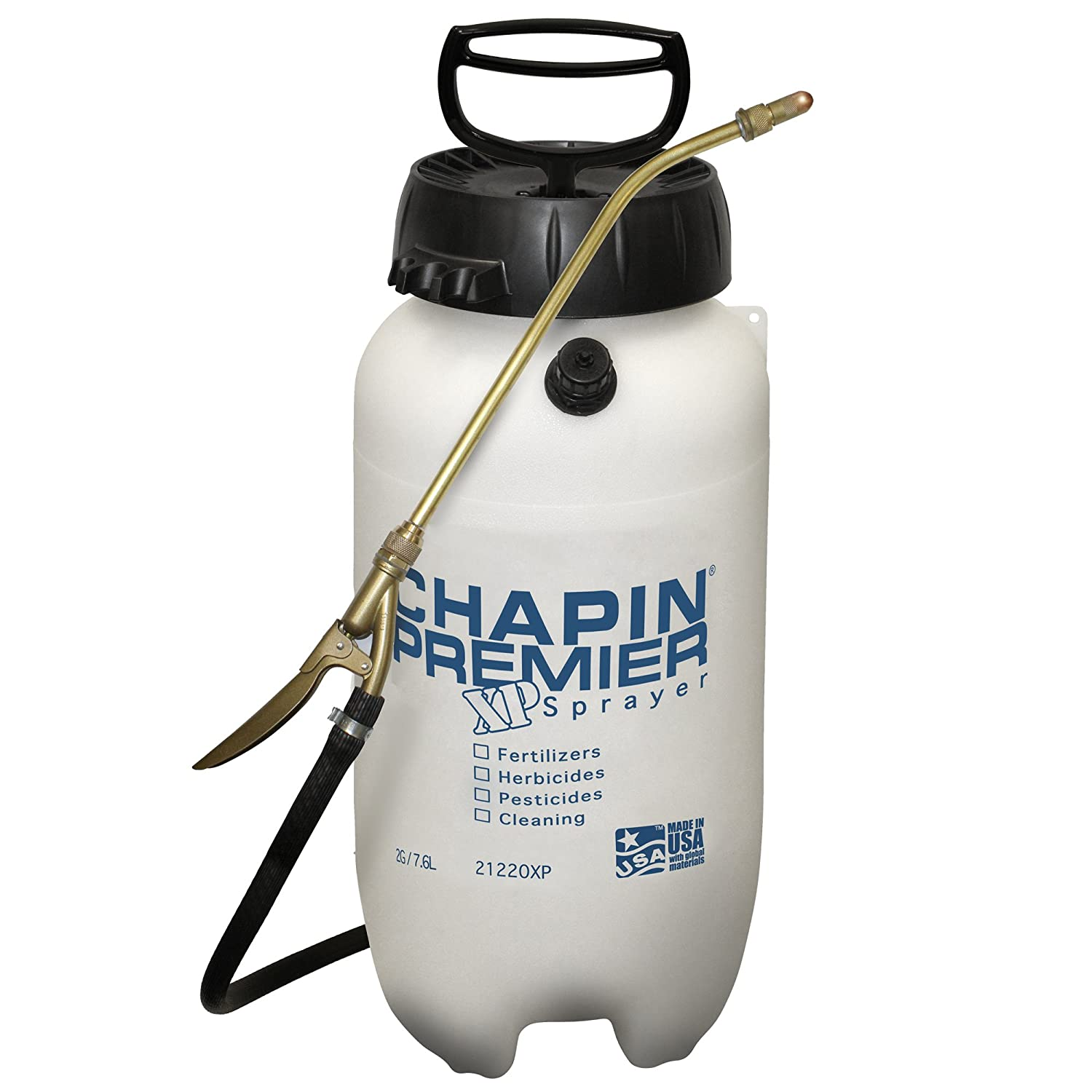 Chapin 21220XP 2-Gallon Premire Pro XP Poly Sprayer for Fertilizer, Herbicides and Pesticides, 2-Gallon (1 Sprayer/Package)