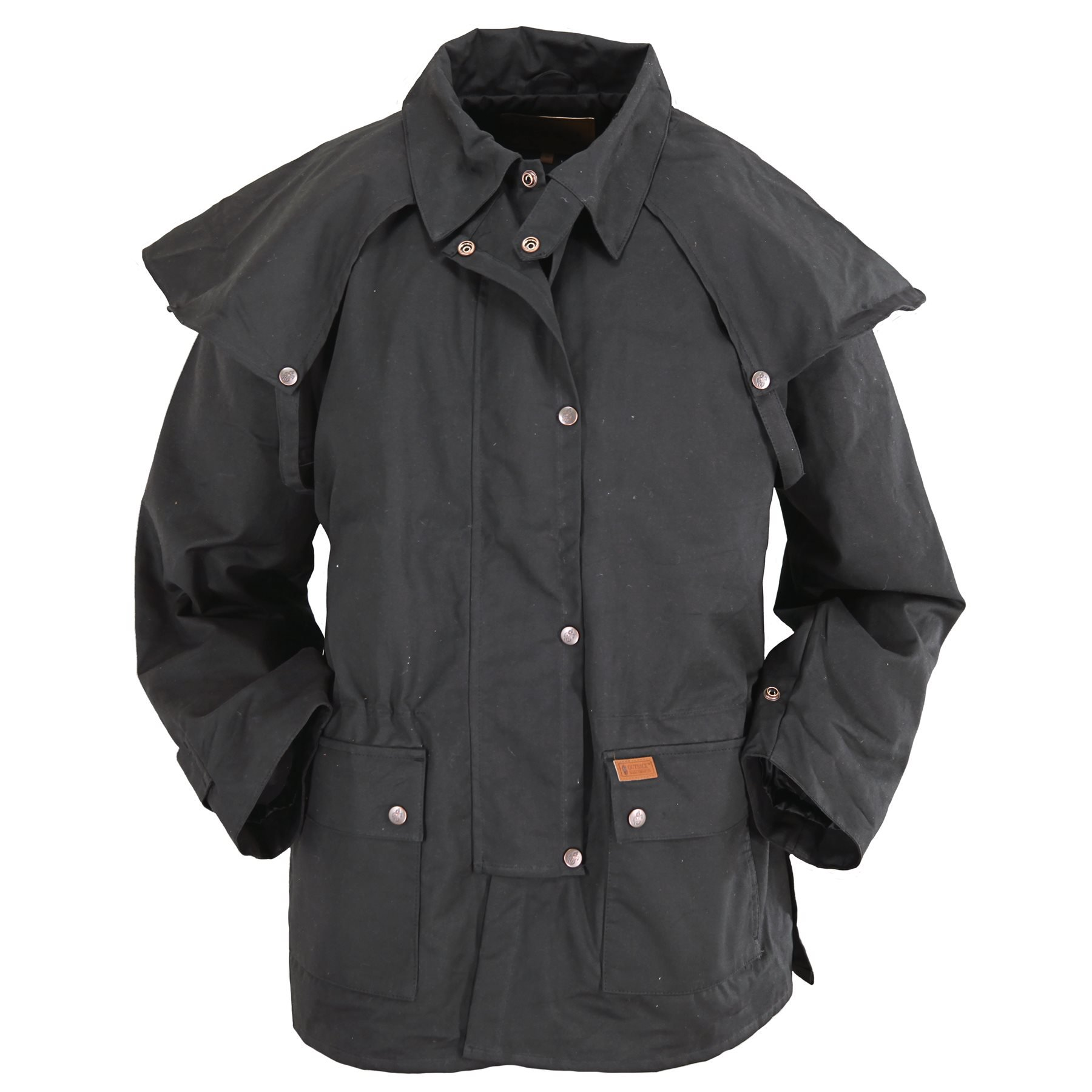 Outback Trading Company Bush Ranger Jacket, Black, M by Outback Trading