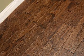 3 4 Hardwood Flooring woodale carmel oak 34 in thick x 3 14 in Elk Mountain Oak Gunstock Dark 34 X 5 Hand Scraped Solid Hardwood Flooring