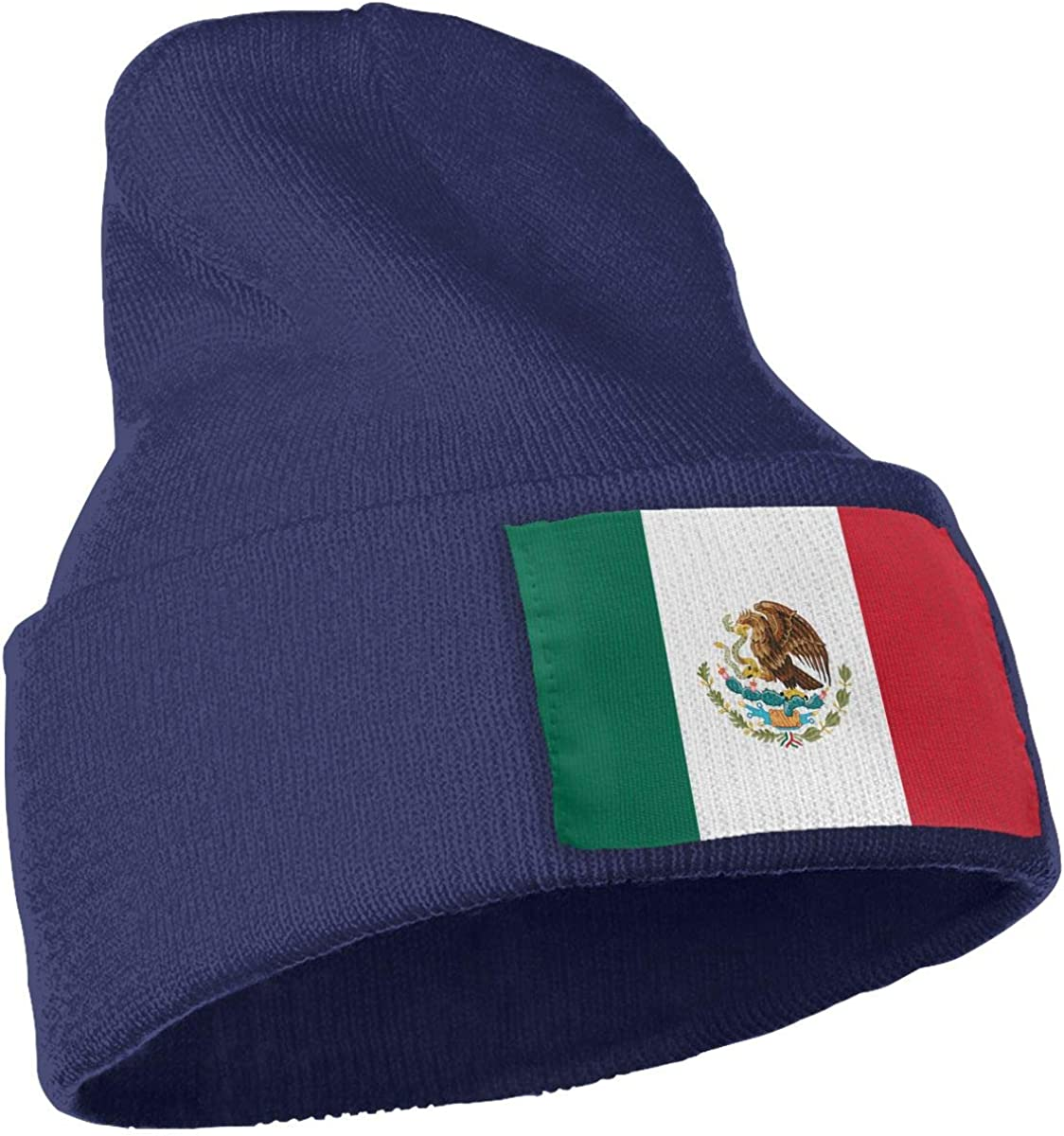 COLLJL-8 Men /& Women Flag of Mexico Outdoor Warm Knit Beanies Hat Soft Winter Knit Caps