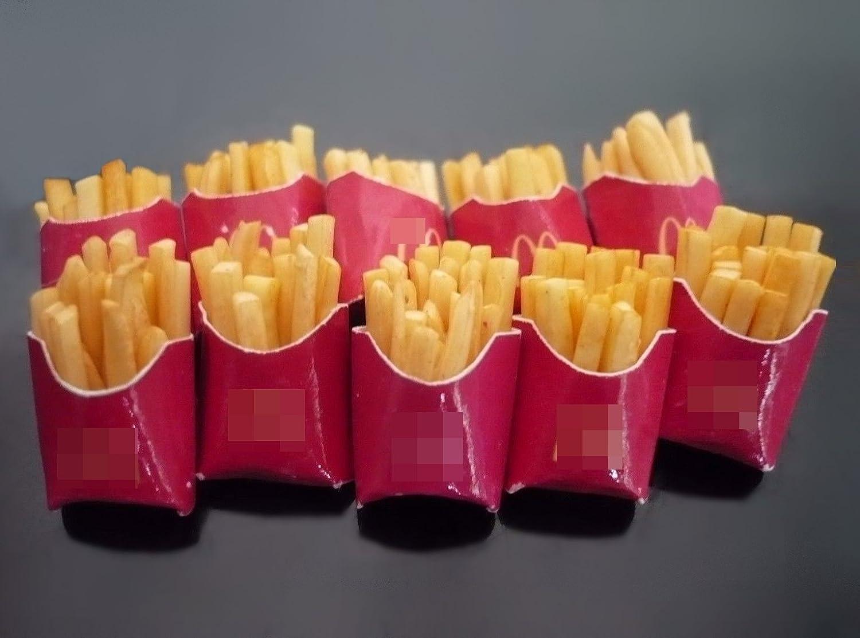 Lot Fries of B07B3Y6N3K 10ドールハウスミニチュアFast Food French inバッグ Fries inバッグ B07B3Y6N3K, アニメディアショップin:6c52f1a6 --- alumnibooster.club