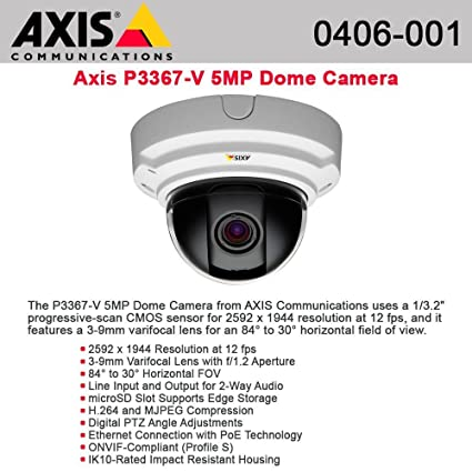 AXIS P3367-V NETWORK CAMERA DRIVERS FOR WINDOWS DOWNLOAD