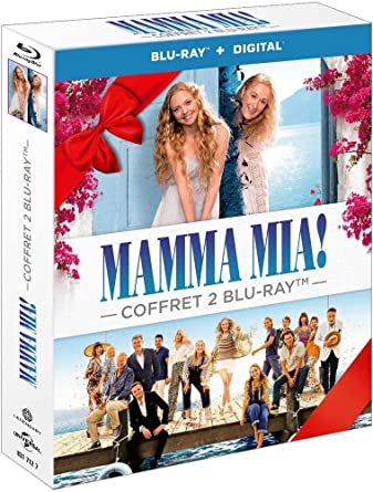 Mamma Mia! + Mamma Mia! Here We Go Again Francia Blu-ray: Amazon ...