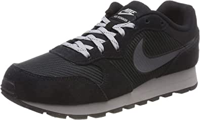 Nike Md Runner 2 Se Hombres Entrenadores Para Correr Ao5377 Zapatillas Zapatos Negro 10 Shoes