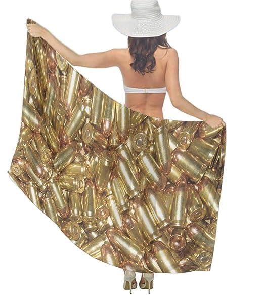 5679adc6c01ef Multi Purpose Hawaiian Scarves Pareo Beach Wraps Sarongs Gold Bullet ...