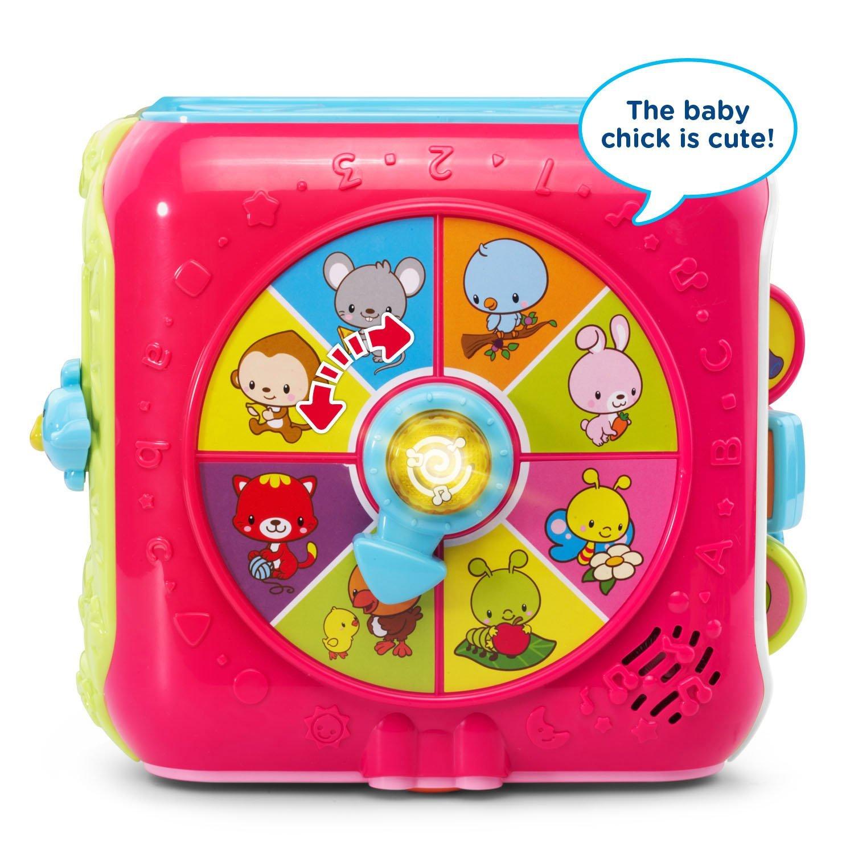 VTech Sort & Discover Activity Cube, Pink by VTech (Image #3)