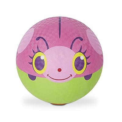 Melissa & Doug Sunny Patch Trixie Ladybug Classic Rubber Kickball: Toys & Games