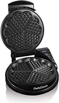 Chef's Choice Five-of-Hearts Waffle Maker