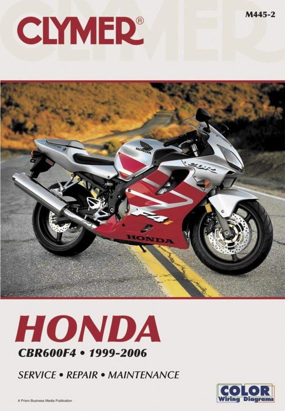 Clymer Honda Cbr600f4 1999 2006 53166 Automotive 2005 Cbr 600 Rr Color Wiring Diagram