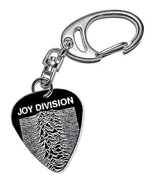 Joy Division Guitarra Plectro Keyring Llavero (F1): Amazon ...