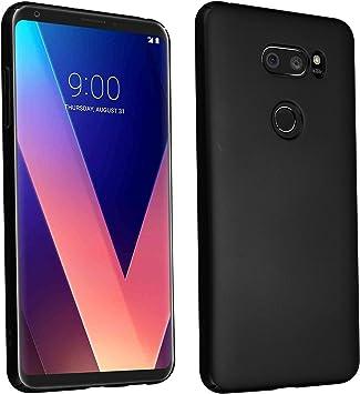 Cadorabo Funda para LG V30 en Metal Negro: Amazon.es: Electrónica
