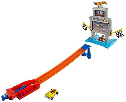 2886f50ca23 Image Unavailable. Image not available for. Color  Hot Wheels Triple Target  Takedown Track Set
