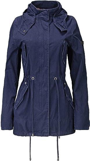 Frieda & Freddies New York Damen Jacke, Farbe: Dunkelblau
