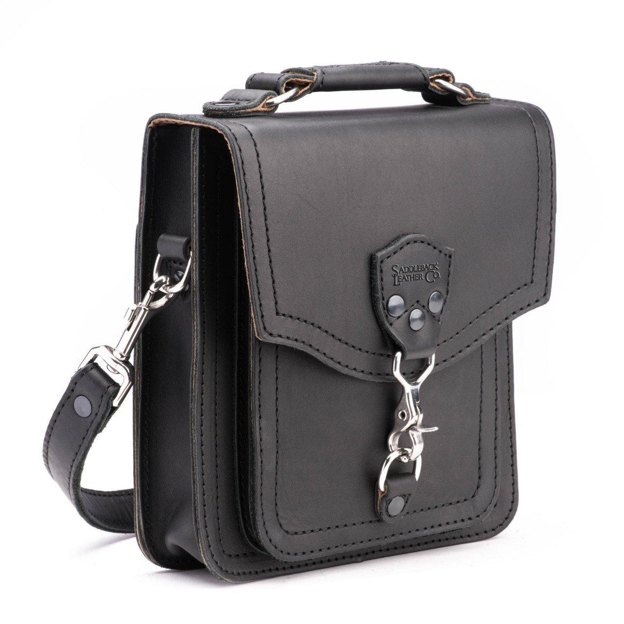 Saddleback Leather Front Pocket Pouch Black by Saddleback Leather Co.