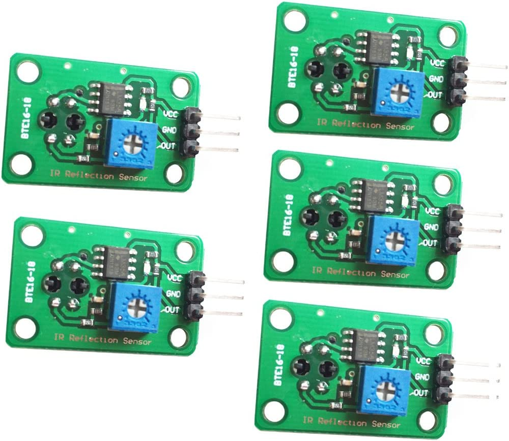 5PCS IR Infrared Obstacle Avoidance Sensor Module For  Smart Car Robot Ud