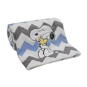 Lambs & Ivy My Little Snoopy Blanket