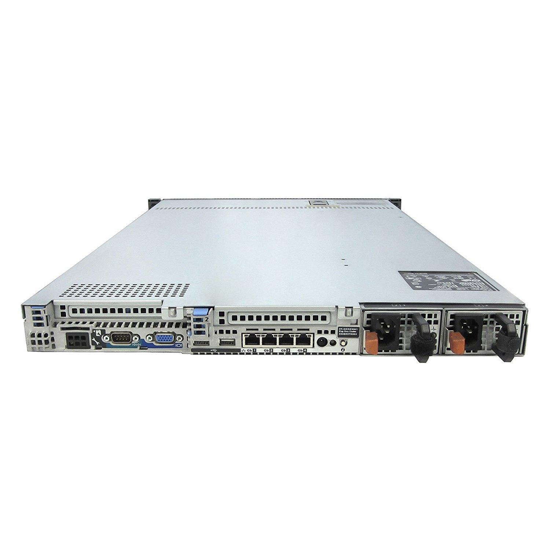 DELL PowerEdge R610 6 Bay Server 2 26Ghz L5520 Quad Core 24GB 1 PSU PERC  6/i DVD-ROM