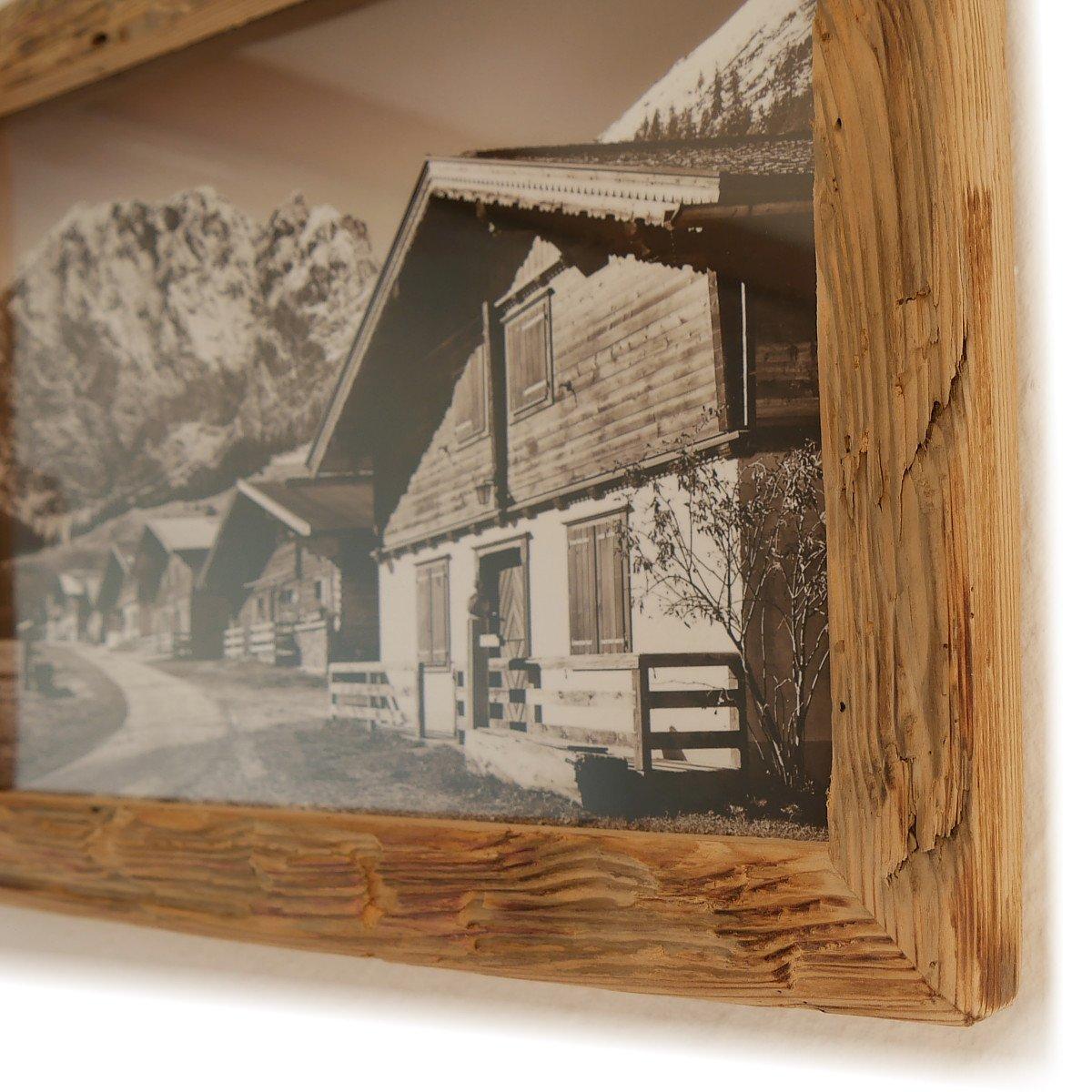 Bilderrahmen Alt-Holz Fichte Dezent aus echtem, historischen Holz ...