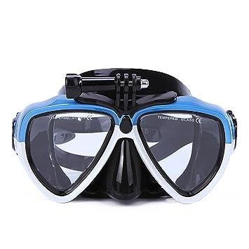 BEETEST Máscara de buceo Adultos desmontable anti-empaños buceo lentes gafas de máscara con templaron