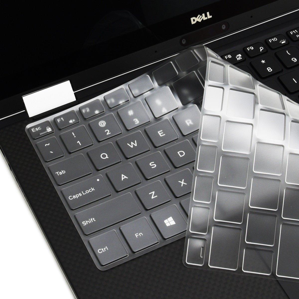 Folox® Waterproof Ultra Thin TPU Keyboard Protector Cover Skin for Dell  Latitude E6420,E6320,E5430,E6330,E6440
