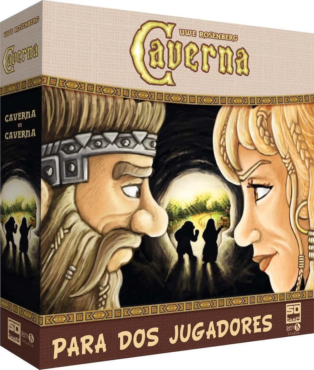 SD Games- Caverna 2 Jugadores (SDGCAVER201): Amazon.es: Juguetes y juegos