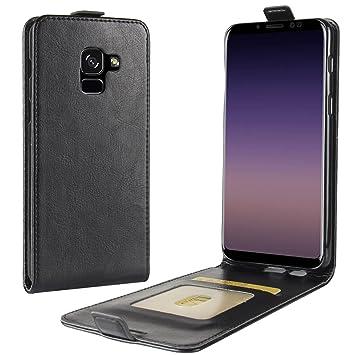 HualuBro Funda Samsung Galaxy A8 2018, Carcasa de Protectora ...