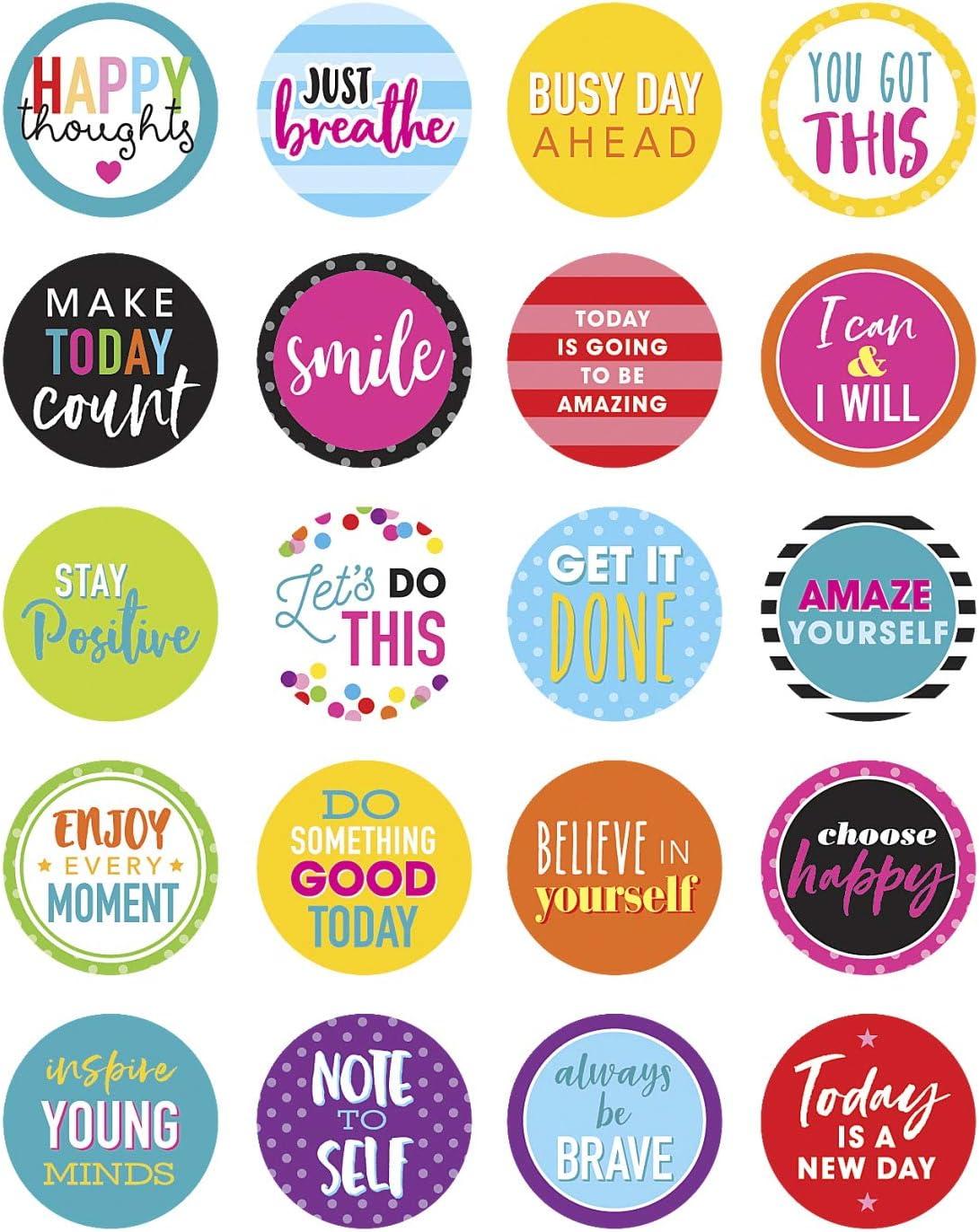 Matte Sticker Paper, Multicolor Typography T0013 Typography Stickers Planner stickers Multi Color High School Life