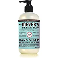 Mrs. Meyer's Clean Day Hand Soap, 370ml, Basil