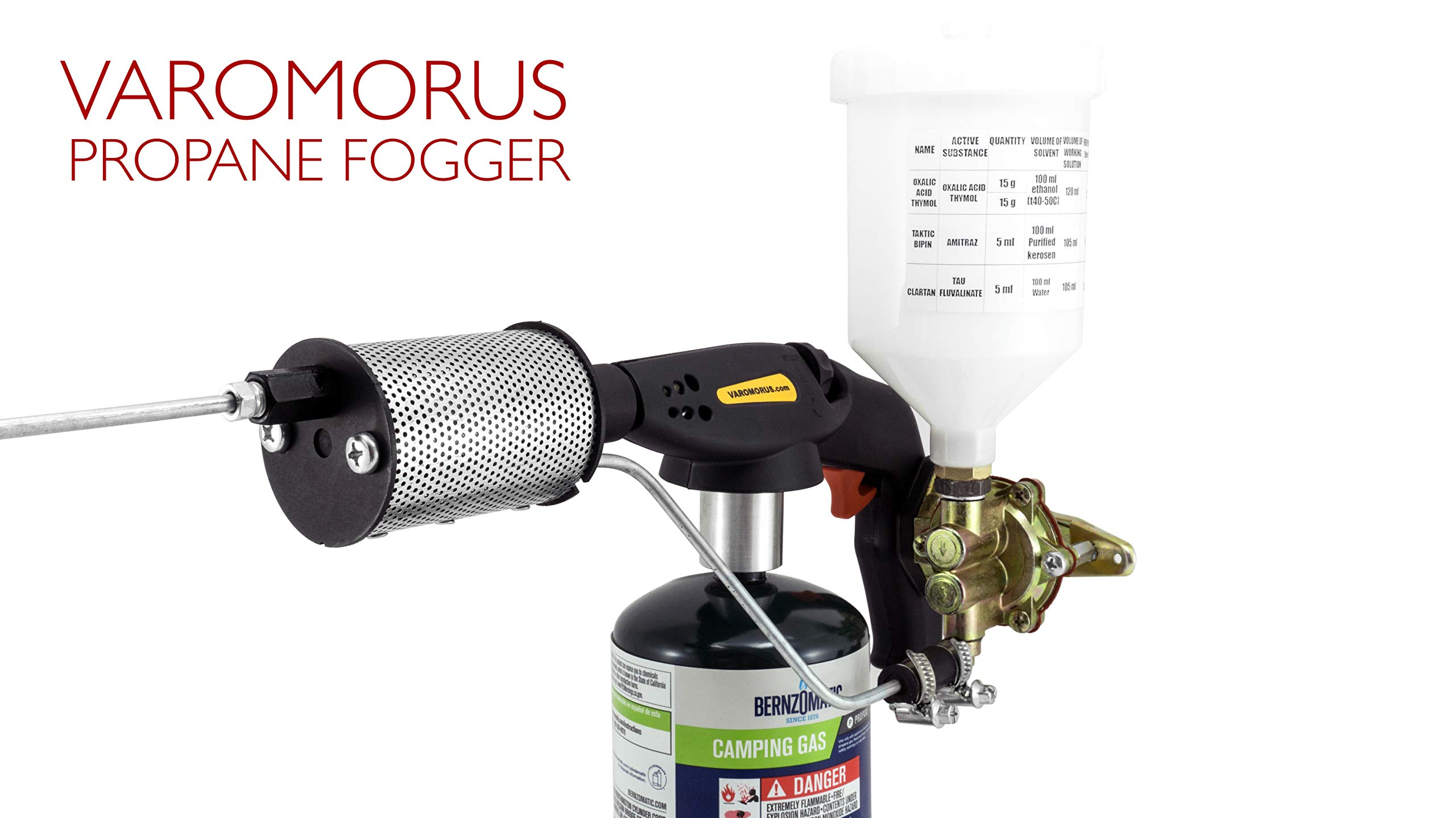 Varomorus Propane Insect Fogger for Fast and Effective Varroa Mites Control by Varomorus