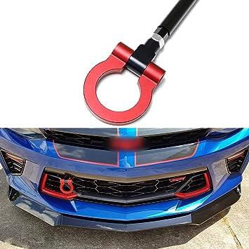 Alu carreras gancho de remolcar en Carbon look para VW