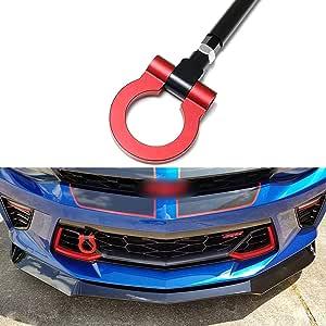 Tornillo de Remolque delantero aleaci/ón de aluminio para E series rojo Ganchos de Remolque del Coche