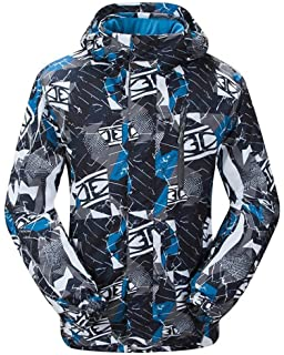 Phibee Men s Waterproof Windproof Outdoor Fleece Snowboard Ski ... 7ce0a059c