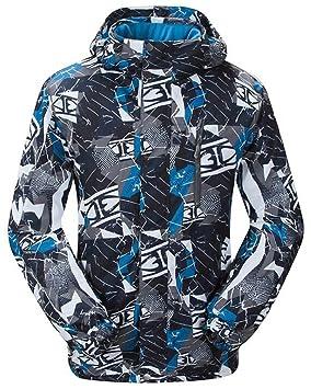 Chaqueta de esquí y snowboard para hombre de Tuonroad, con función softshell y repele el agua (M-3XL): Amazon.es: Deportes y aire libre