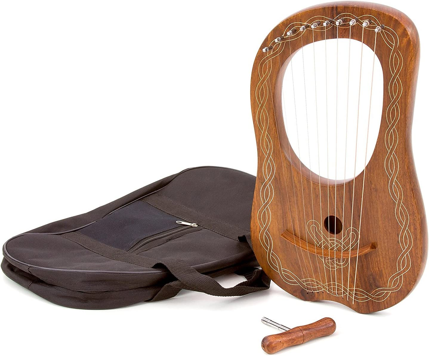 Lyre Arp, 10 cuerdas, afinable, sonido hermoso de alta calidad ...