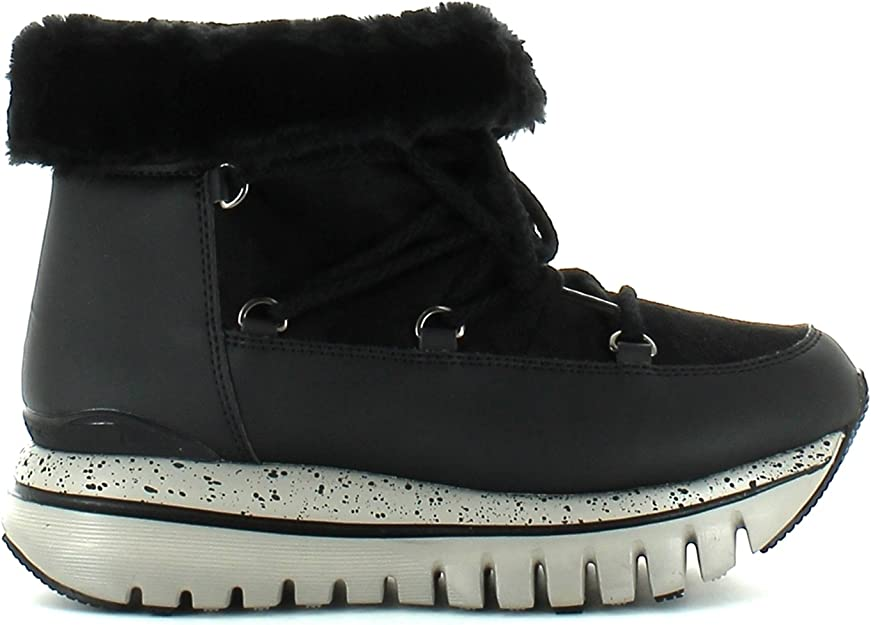 Fornarina Sportglam Funlight Moon Boots US9/EU 40 Black
