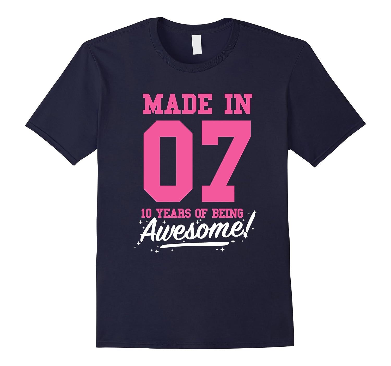 Awesome Birthday Shirt T shirt Purple-Xalozy