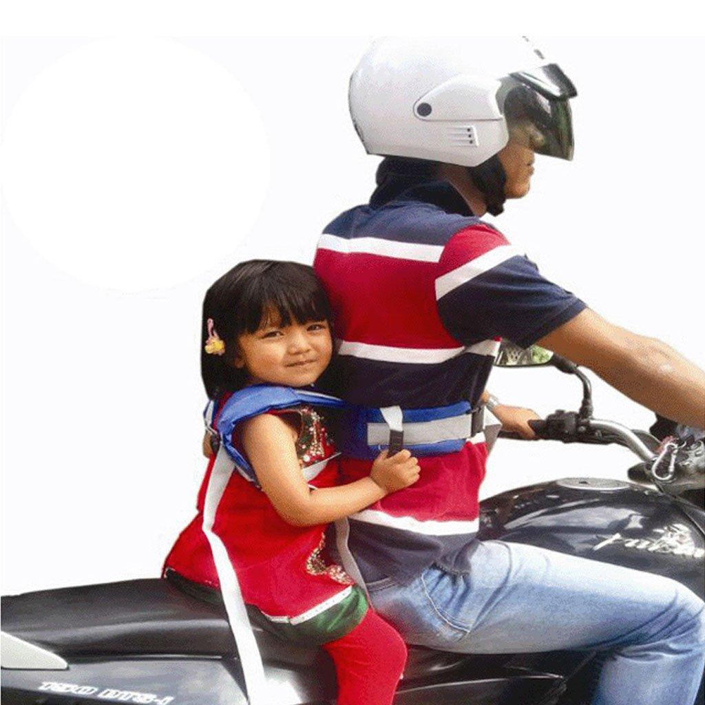 BAIYOU Kids Children Motorcycle Safety Belt Harness Electric Vehicle Safe Strap Carrier