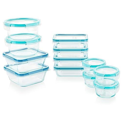 Snapware 1122515 Szklany zestaw do przechowywania żywności 24-częściowy