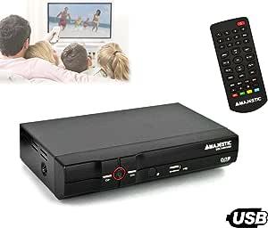DEC 548N/USB Decodificador televisión TDT anchos de banda VHF y UHF Majestic: Amazon.es: Electrónica