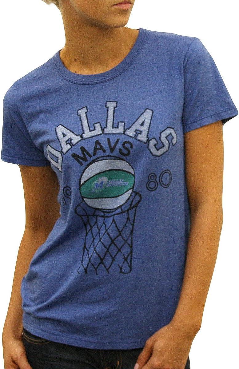 NBA Women's 1980 Dallas Mavericks Tee (Liberty, X-Large)