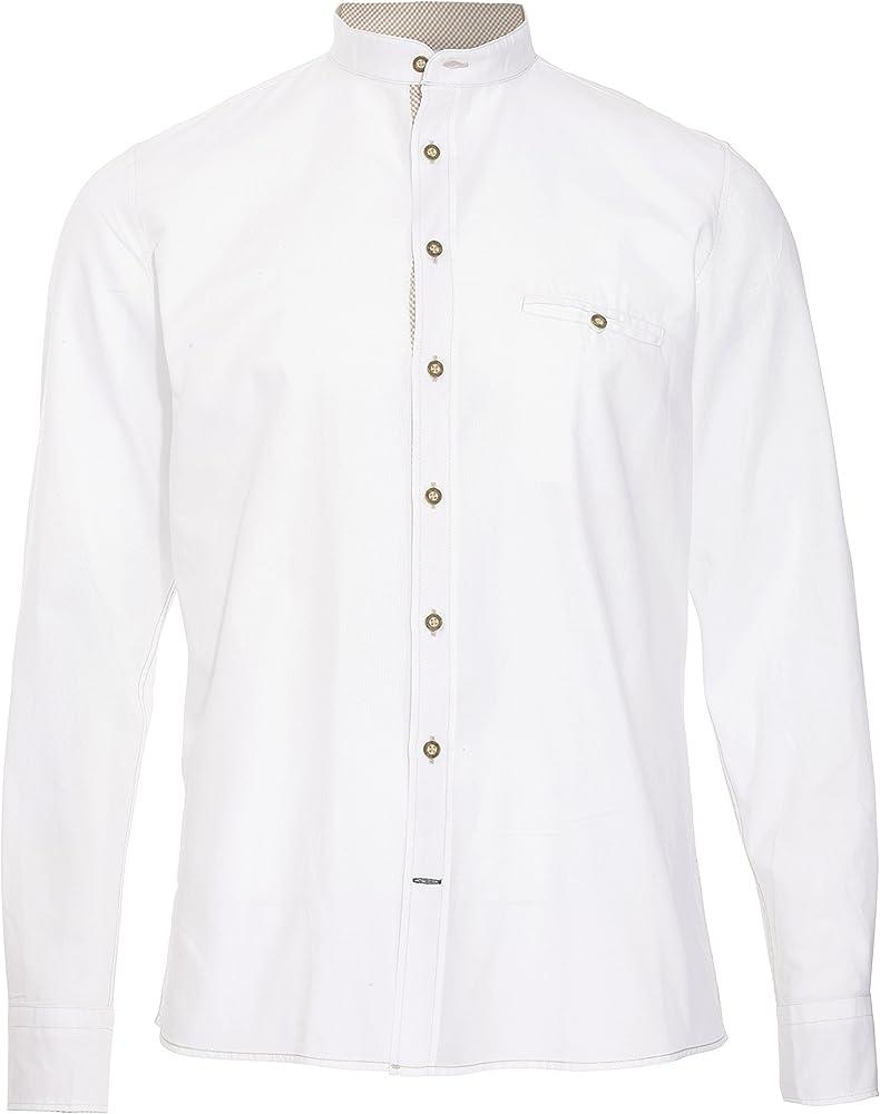 Pure Camisa Blanca Traje bávaro UNI bianco S: Amazon.es: Ropa y accesorios