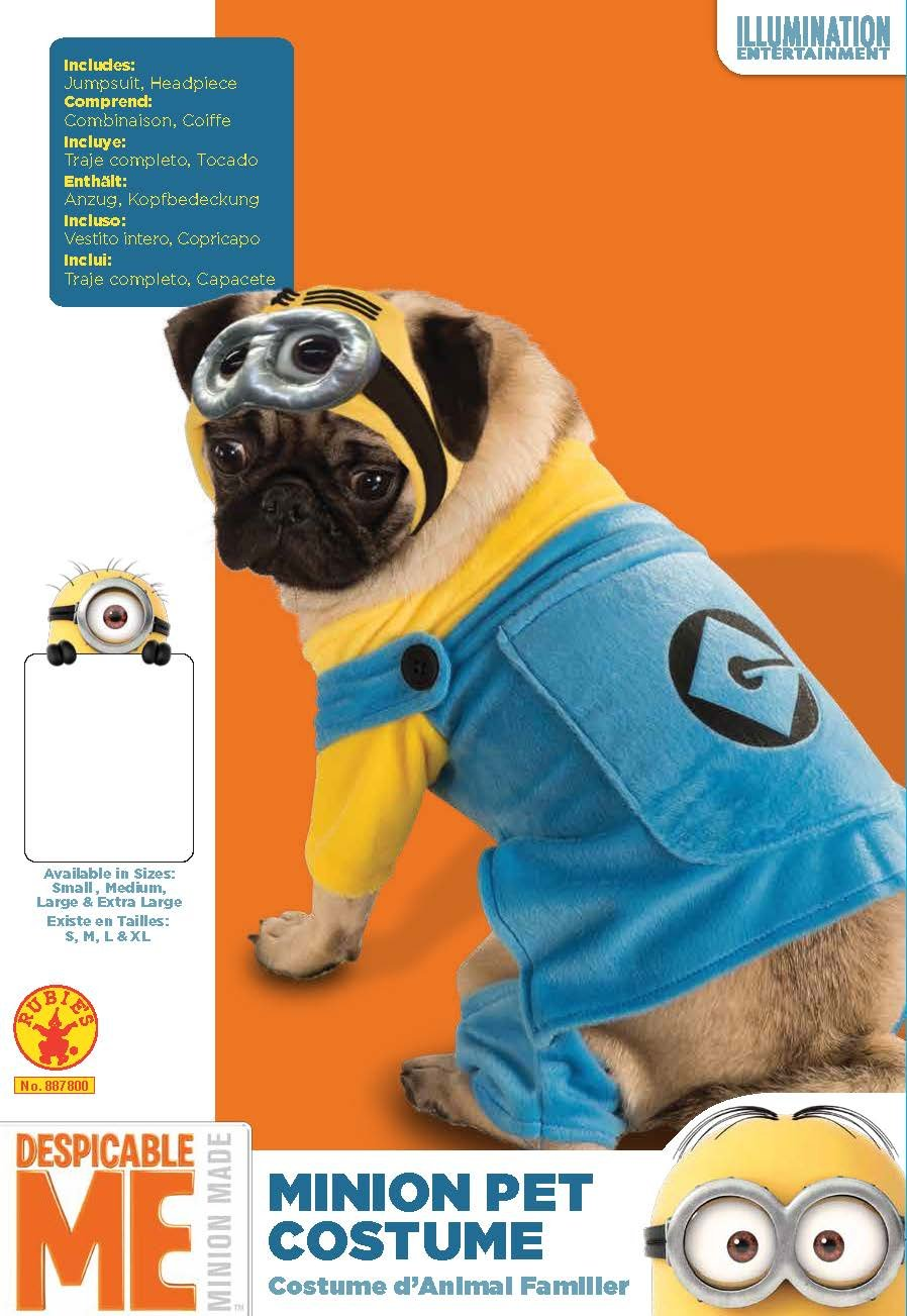 Rubie's Despicable Me Minion Pet Costume, X-Large by Rubie's (Image #2)