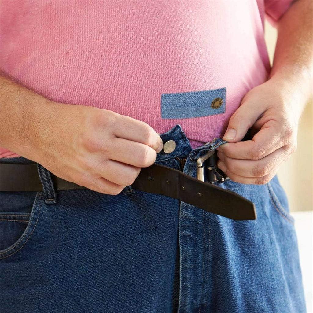 Sharplace Hosen Bund Extender Verstellbare Bauchband Elastische Damen Hosenerweiterung mit Kn/öpfe f/ür M/ütter Schwangere Frauen