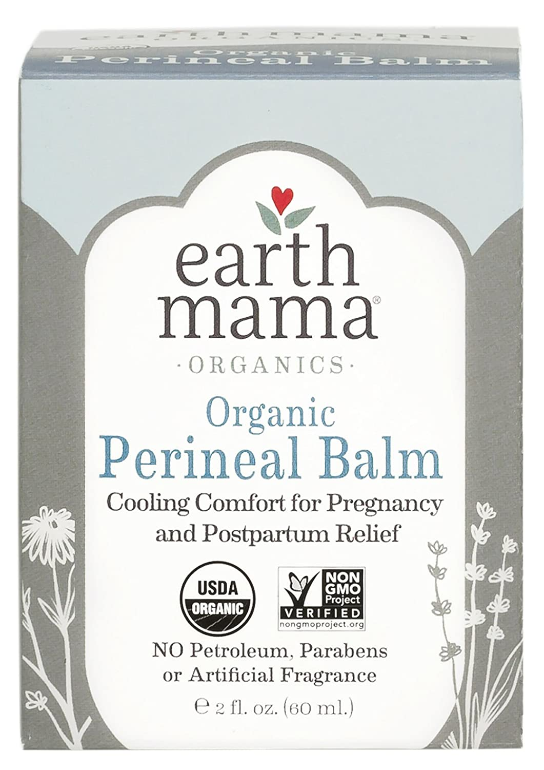 Earth Mama Organic Perineal Balm for Pregnancy and Postpartum