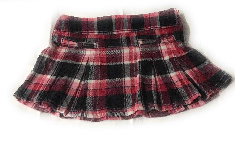 Gymboree Girls Plaid Skirt 4