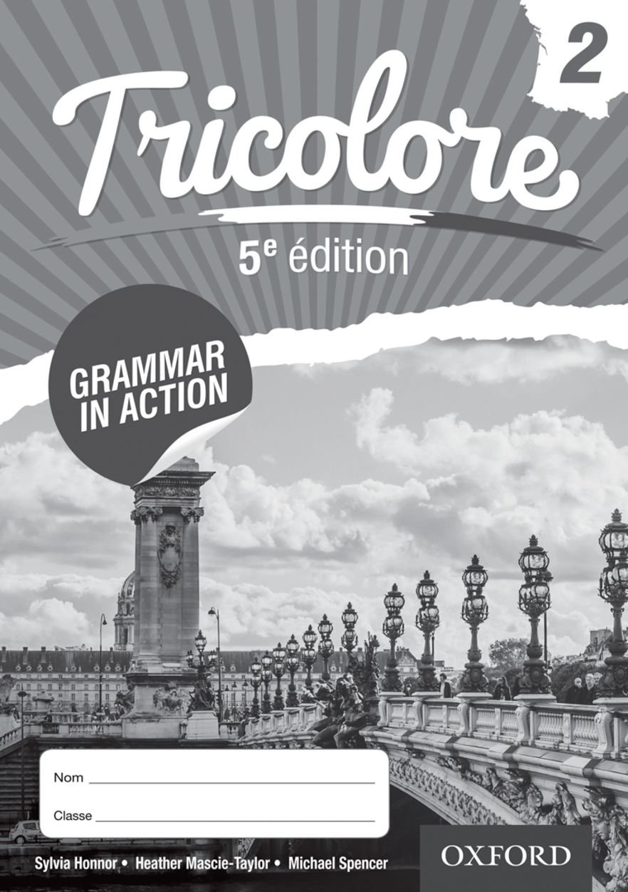 Tricolore 5e edition Grammar in Action Workbook 2 (8 pack) PDF