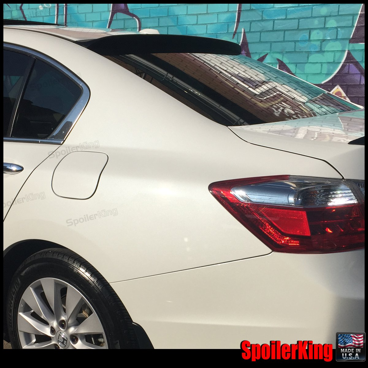 Compatible with Honda Accord 4dr 2013-2017 Spoiler King Roof Spoiler XL 380R