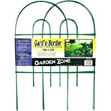 Origin Point Brands 42410 Gard'n Border Round Folding Fence, Green, 24-Inch X 10-Feet